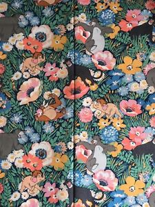 25cm x 25cm Square Cath Kidston X Disney The Jungle Book Lightweight Cotton new