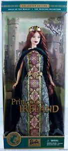 Princess of Ireland Barbie Doll DOTW #53367 Never Removed from Box 2001 Mattel