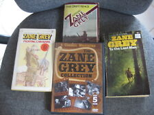 Zane Grey: 3 Books & 5 Movies, 3 are the same as the books. READ then WATCH.