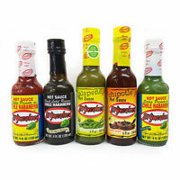 Mexican Chilli Sauce - El Yucateco Salsa 5 Bottles Saver Pack 5 x 120ml