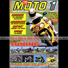 MOTO 1 N°111 DUCATI OVER OV-10 DUCATI SUZUKI RG 125 WOLF HONDA CB 1000 R 1992