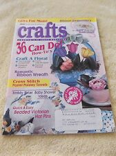 America's #1 CRAFTS Magazine May  1995 Gifts for Mom Pattern