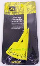 John Deere Mower Deck Leveling Gauge for Lawn Tractors