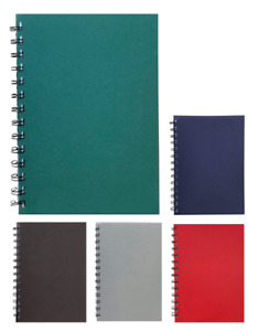 Various Colour Executive A5 Lined Notepads 70 Sheets 80gsm