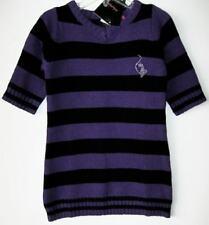 Baby Phat Girlz Purple/Black Striped Sweater Dress (2T) NWT