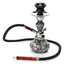 "New 10.5"" Black Hookah Water Canabis Vase Shisha Smoking Hose Pipe"