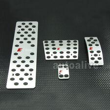 S-Line AT Foot Rest Pedal Set For AUDI A4 A4L A5 A6 A6L A8 A8L Q5 B6 B7 B8 LHD