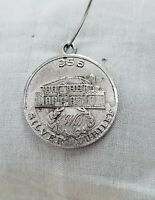 Sterling Silver Jubilee Coin - Vintage Estate - 1956 - 925 Stamped - Charm