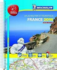 France 2016 tourist and motoring atlas - laminated A4 spiral (Michelin Tourist a