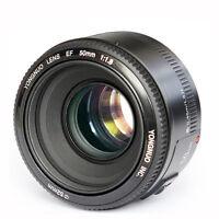 Yongnuo 50mm F/1.8 AF/MF Standard Prime Lens for Canon EOS Rebel 5D 7D 60D 70D