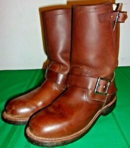 Red Wing, Work, Biker Boots for Men, Size 4.5 D (2991) U.S.A. Made - Excellent!!
