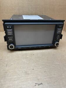 2007 2008 NISSAN ALTIMA USED FACTORY AM/FM RADIO CD NAVIGATION RECEIVER