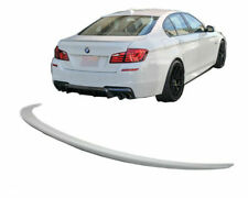 BMW 5 series F10 F18 M5 LOOK SPORT REAR LIP BOOT TRUNK LID SPOILER LIP WING ABS