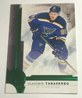 Vladimir Tarasenko /99 made Artifacts Emerald Insert Parallel Hockey Card 20