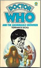 Doctor Who and the Abominable Snowmen (Target ad. by Dicks, Terrance Paperback