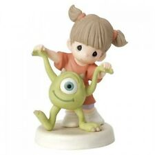 New PRECIOUS MOMENTS DISNEY Figurine MONSTERS INC UNIVERSITY Girl Mike Wazowski