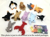 *New in Packages* McDonald's 1998 TY TEENIE BEANIE BABIES, Complete Set of 12