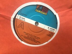 The Drifters - You Gotta Pay Your Dues (UK Atlantic)