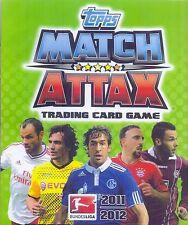 Match Attax 2011/12 aus Liste 20 Basis-Karten und auch Sonderkarten aussuchen