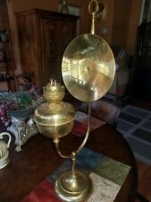 Vintage Collectible Brass Surgeons Lamp Scott Lamp Co. Round Label
