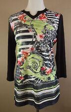 Hüftlange Gerry Weber 3/4 Arm Damenblusen, - tops & -shirts mit Stretch