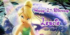 Birthday banner Personalized 4ft x 2 ft Tinkerbell