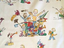 OSBORNE & LITTLE All Join In Zagazoo Children Musicians Cotton Remnant New