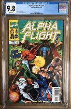 Alpha Flight #16 Vol. #2 CGC 9.8 Early BIG HERO 6 creators Seagle & Rouleau