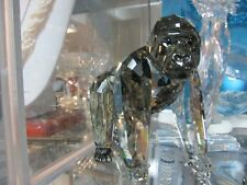 Swarovski Collector Society Crystal Gorillas Mother & Cub Ah 2009 W/Box/Cert