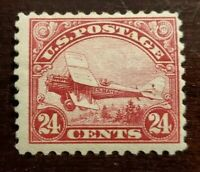 US Stamps Collection Scott # C6 - 24c Mint H OG CV$70