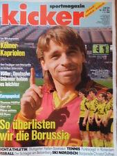 KICKER 18 - 1.3. 1993 Häßler Lautern-Bayern 1:3 HSV-Dresden 1:1 Schalke-BVB 0:0