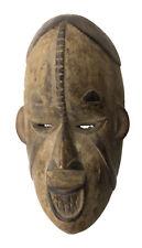 Masquette masque passeport africain Igbo Nigeria 18cm fetiche miniature 16644