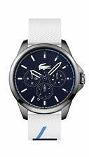 NEW Lacoste Men's Capbreton SS Japanese Quartz Watch 2010980 Chronograph