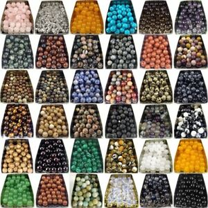 wholesale natural gemstone spacer loose beads stone 4mm 6mm 8mm 10mm 12mm DIY