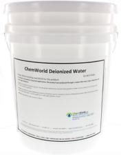 Chemworld Deionized Water (Type II) - 5 Gallons