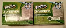 Lot of 2 Swiffer Sweeper Dry Sweeping refill Cloths 16 ea Sweepervac