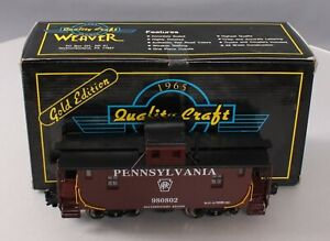 Weaver G2012-L O BRASS Pennsylvania N6B Caboose #980802 [3Rail] EX/Box