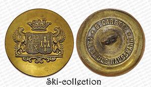 Button Livery- Marquis Of Lévézou Of Vesins & Dor Of Lastours. France, 1901