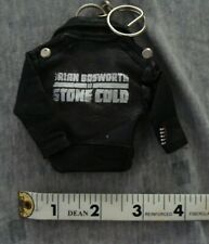 Brian Bosworth STONE COLD Promotional tiny leather jacket KEYCHAIN video store p