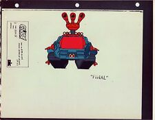 "G.I. Gi Joe Hiss Ii (Front) Model Cel ""Photo"" 80-90's Cartoon 1990 Dic Animation"