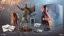 Battlefield 1 Exclusive Collectors Edition Statue SteelBook Cards DLC Poster New