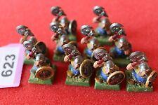 Juegos taller Warhammer guerreros enanos regimiento 10 figuras enanos fuera de imprenta del Ejército