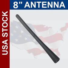 Fit For Acura 8inch Black Antenna Aerial Mast Screw-in Car Auto Radio Signal