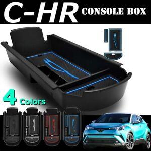 For TOYOTA C-HR CHR Armrest Box Storage Stowing Center Console Organizer blue