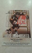 2002-03 UD Upper Deck MVP Highlight Nights  Mario Lemieux Card HN6 - 1700+ Store