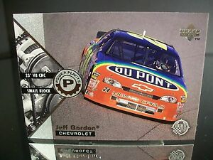 Rare Jeff Gordon #24 Dupont Upper Deck 1997 Card #45 ROAD TO THE CUP