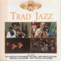 TRADITIONAL JAZZ - A GOLDEN HOUR OF various (CD, compilation) trad jazz, 1990