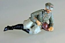 Soldier Old Elastolin Composition Soldier to the / Of Rest Elongated 1930/40