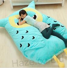 Single Filled Bed Big Hoot Owl Cartoon Owl Bed Carpet Tatami Mattress Sofa Gifts