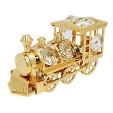 Tischdekoration Lokomotive 80x50mm mit Glas-Steinen